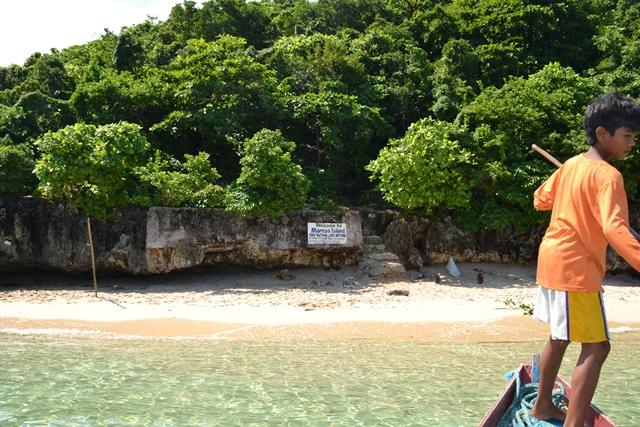 ハンドレッドアイランド - マルコス島に到着