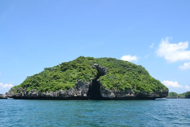 ハンドレッドアイランド - カテドラル島を眺める(1)