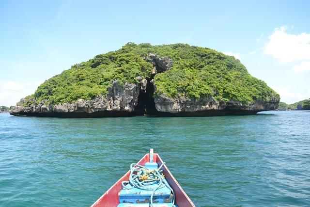 ハンドレッドアイランド - カテドラル島を眺める(2)