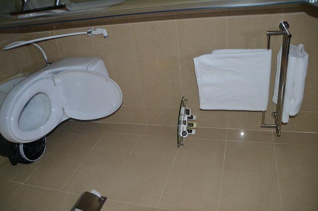 クラーク・インペリアル - トイレとタオルとアメニティ