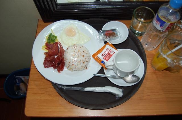 ホテルソウゴの朝食 - ポークトシノ
