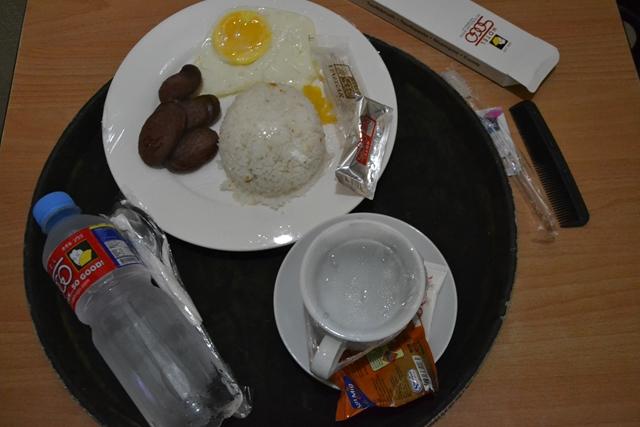ホテルソウゴの朝食 - ロンガニーサ