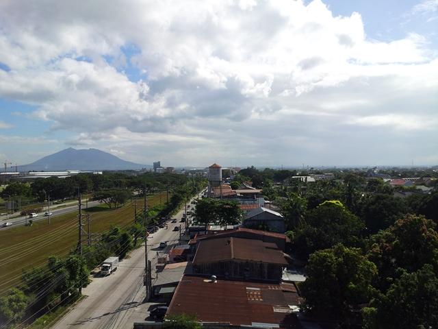 TUNE HOTEL ANGELES 7F からの眺め(2)