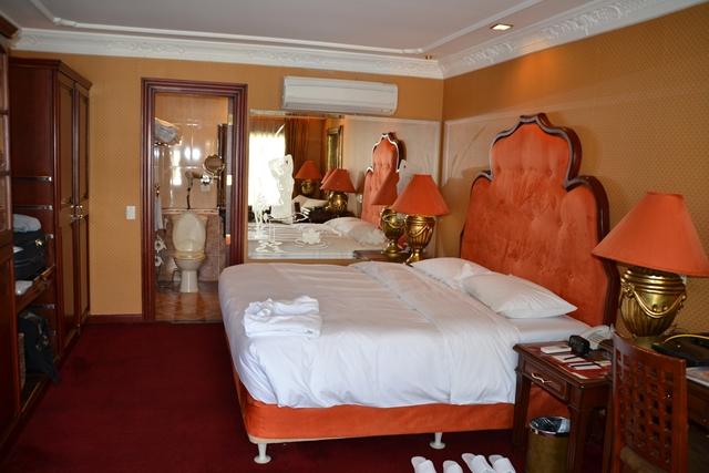 ABCホテル - キングサイズベッド