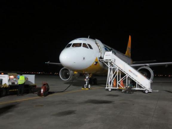 クラーク・インターナショナル・エアポートからバンコクへ