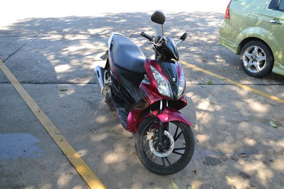 200バーツ/日で借りたバイク