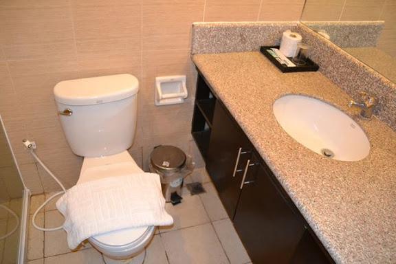 ラ・テレシータのトイレと洗面
