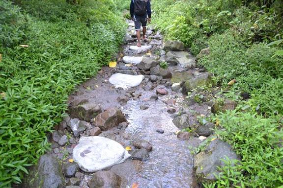 本格的な山歩き