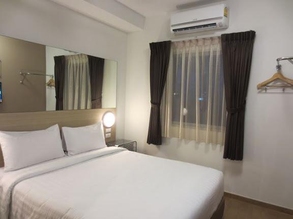 チューン・ホテル・バンコクのベッド