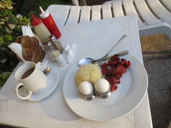 パシフィックブリーズホテルの朝食