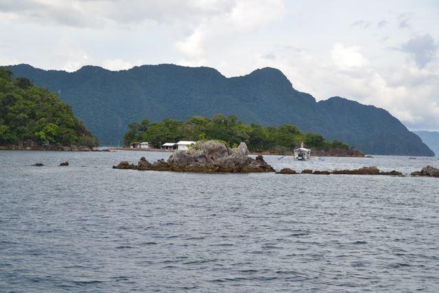 ルソン島 - 沈潜付近の様子