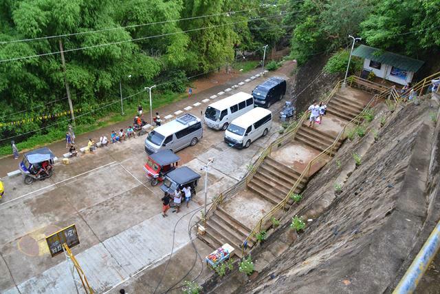タプヤス山 - 駐車場