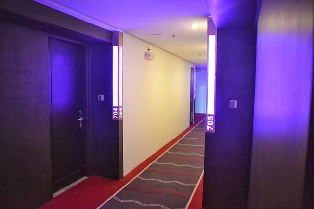ペントハウスホテル - 廊下