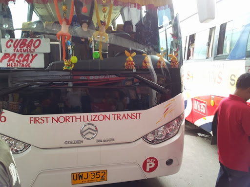 乗車したバス - FIRST NORTH LUZON TRANSIT