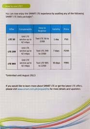 SMART LTE(4G) PRIPAID SIM(2)