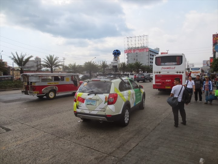 Google Street View Car at manila (3)