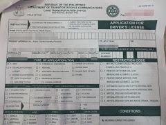 フィリピン運転免許証にコンバート(8)