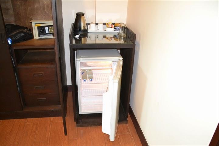 メイタラホテルの冷蔵庫