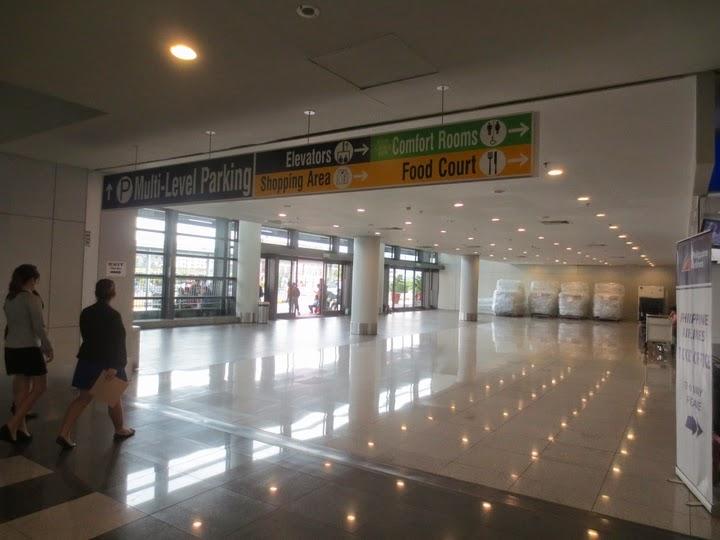 マニラ国際空港のターミナル3のターミナルビル出口
