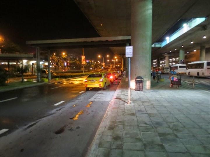 NAIA Terminal3 yellow taxi