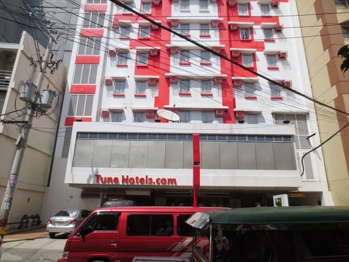 チューンホテル・エルミタ外観
