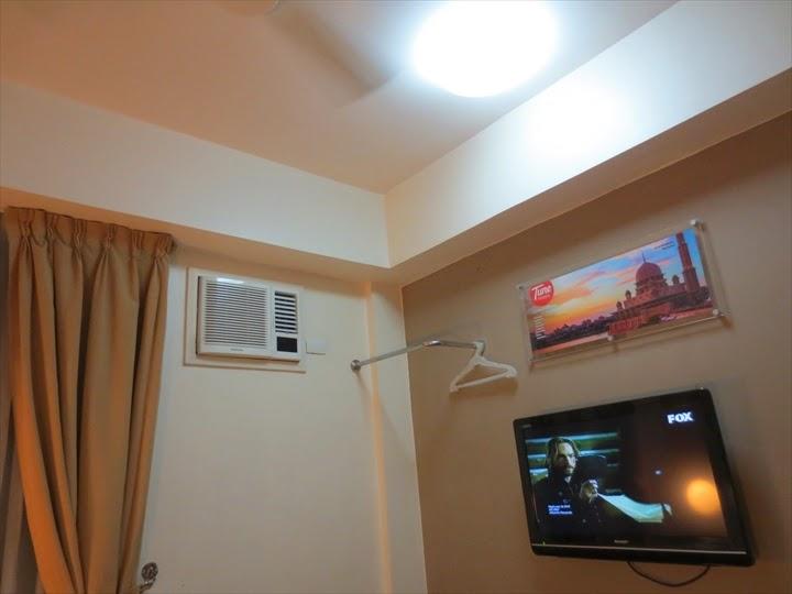 チューンホテル・エルミタ一体式エアコン