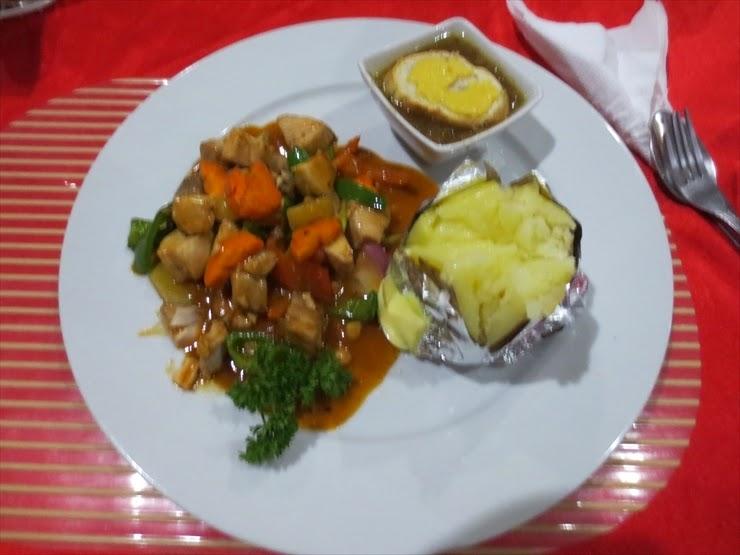 オーキッドインの本日のオススメ夕食(P310)
