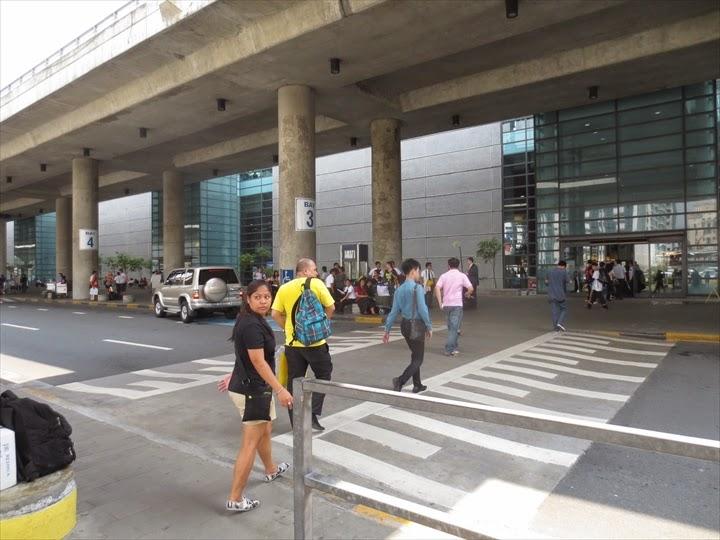 マニラ・ターミナル3の降り場所