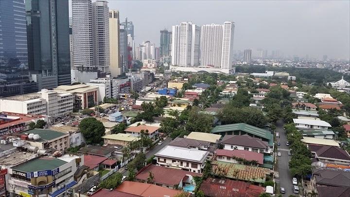 フィリピン・マカティの町並み