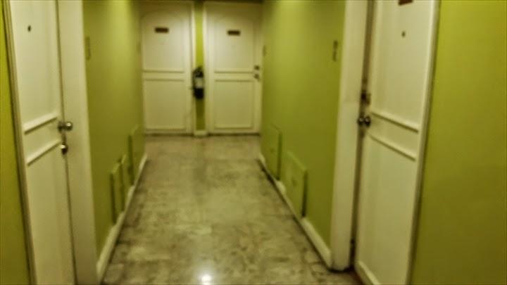 シタデルインマカティホテルの部屋の廊下