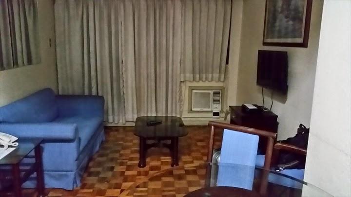 シタデルインマカティの部屋の様子