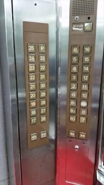 シタデルインマカティホテルのエレベーター