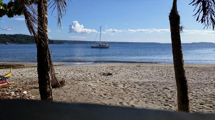 スービックのバリオバレットのビーチの様子