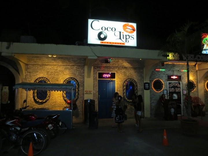 スービックのCoco Lips Barの外観
