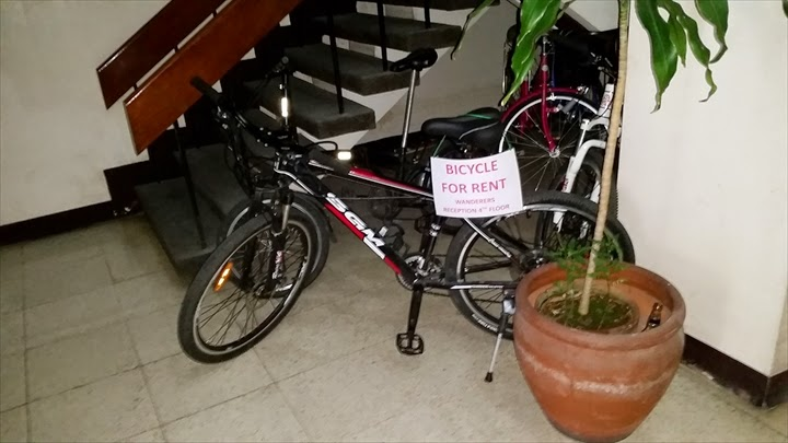 ワンダラーゲストハウス - レンタ自転車