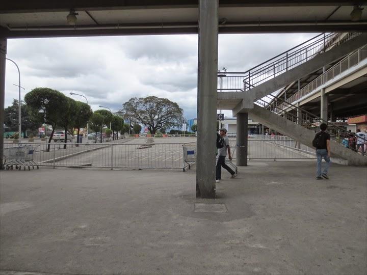 SMクラークシティの駐輪場(閉鎖中)
