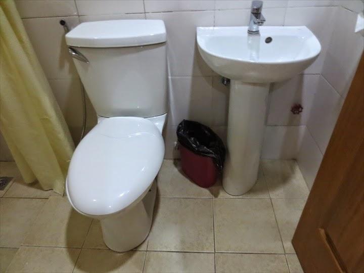 グランプリックスホテル(マニラ)トイレ