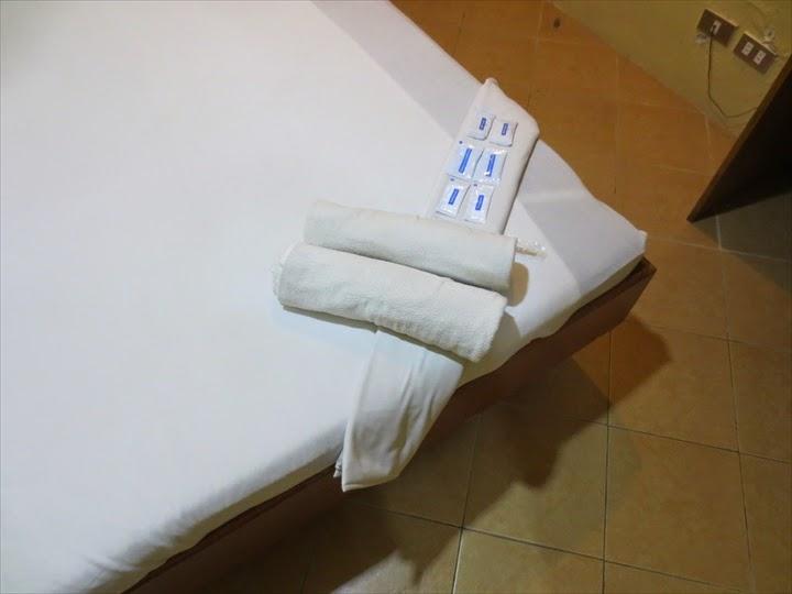 グランプリックスホテル(マニラ)タオル