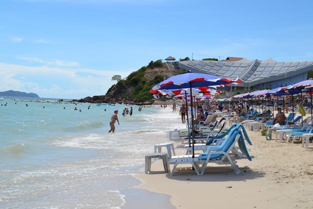 ラン島のビーチの様子