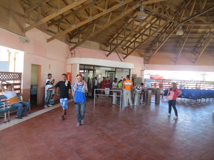 ボラカイからカリボへ - バンカーターミナルへ