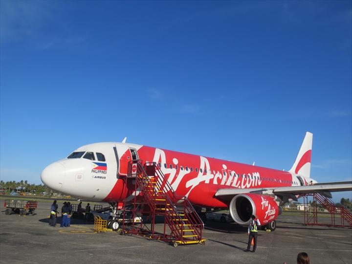 ボラカイからカリボへ - エアーアジアフィリピンの機材