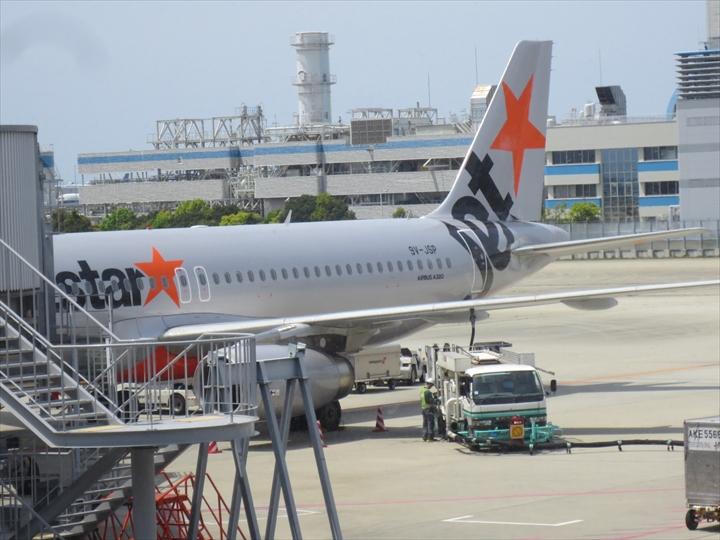 マニラ国際空港ターミナル1でのジェットスター