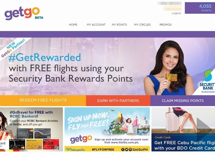 cebupacific getgo website