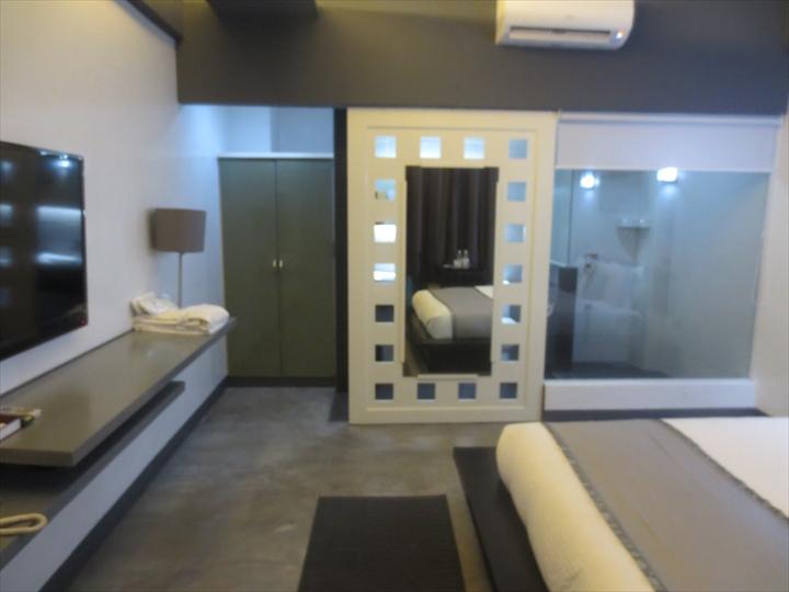 アットザパッドホテルの部屋の様子(1)