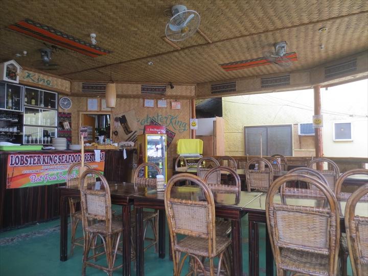 ロブスターキングの店内の様子(2)