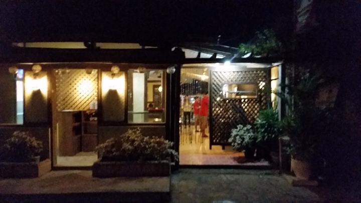 Santino's Grillのレストラン外観