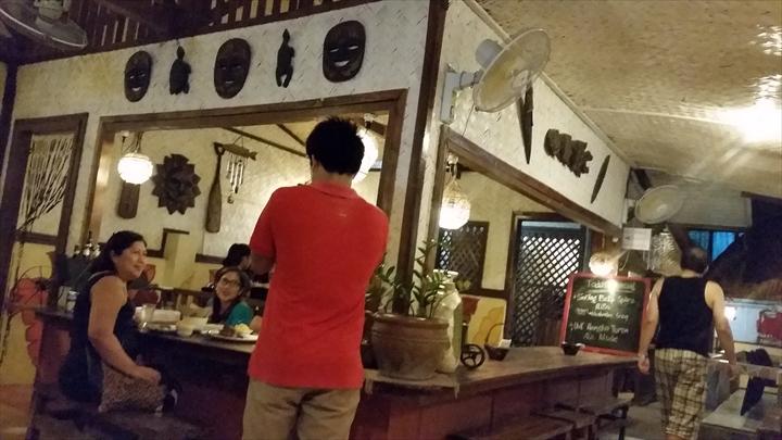 Santino's Grillの店内の様子