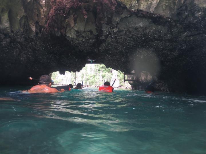 ツィンラグーン - パラワン・コロン(泳いで潜る)