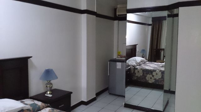 オーキッドインホテル・アンヘレス(鏡&エアコン)