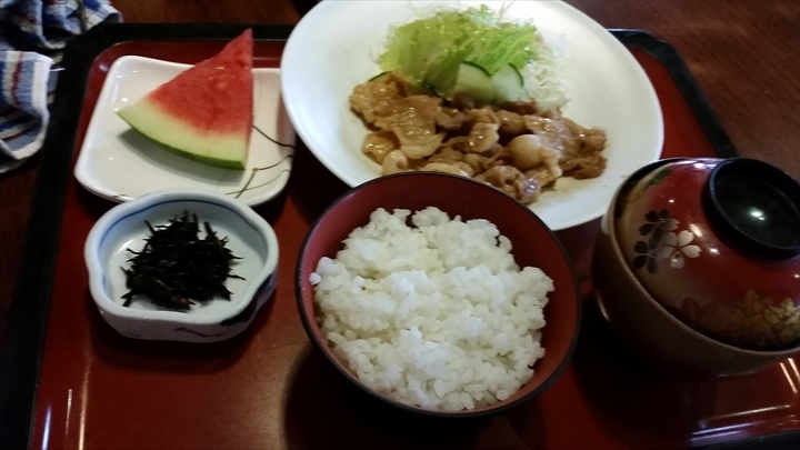 YOFUINさんの(ランチ)豚生姜焼き定食